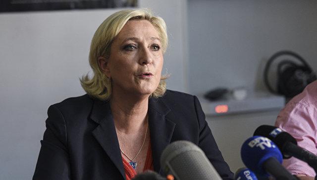 Ле Пен, HSBC, Национальный фронт