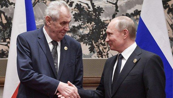 Россия, Чехия, президент