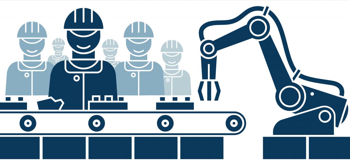 США, автоматизация, рынок труда, рабочие места