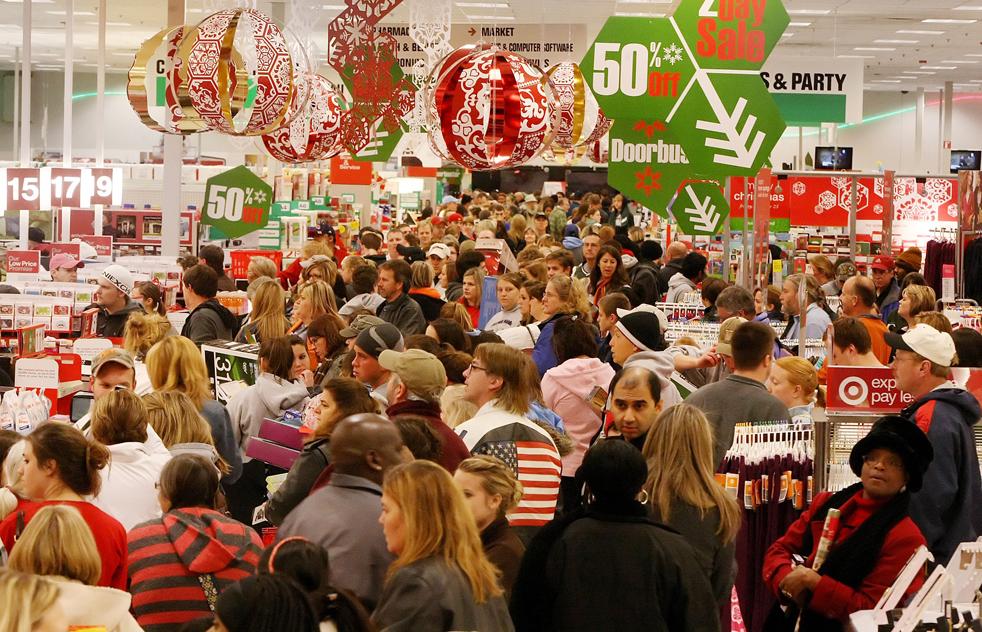 Черная пятница, шоппинг, День благодарения, США