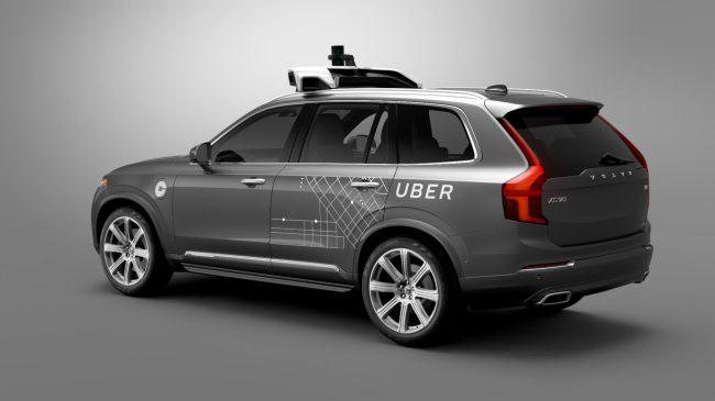 Uber, Volvo, беспилотные автомобили