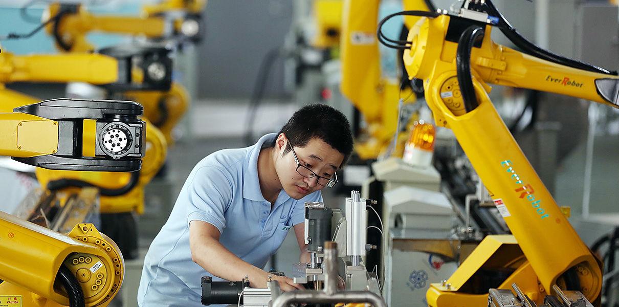 роботы, Китай, развитие