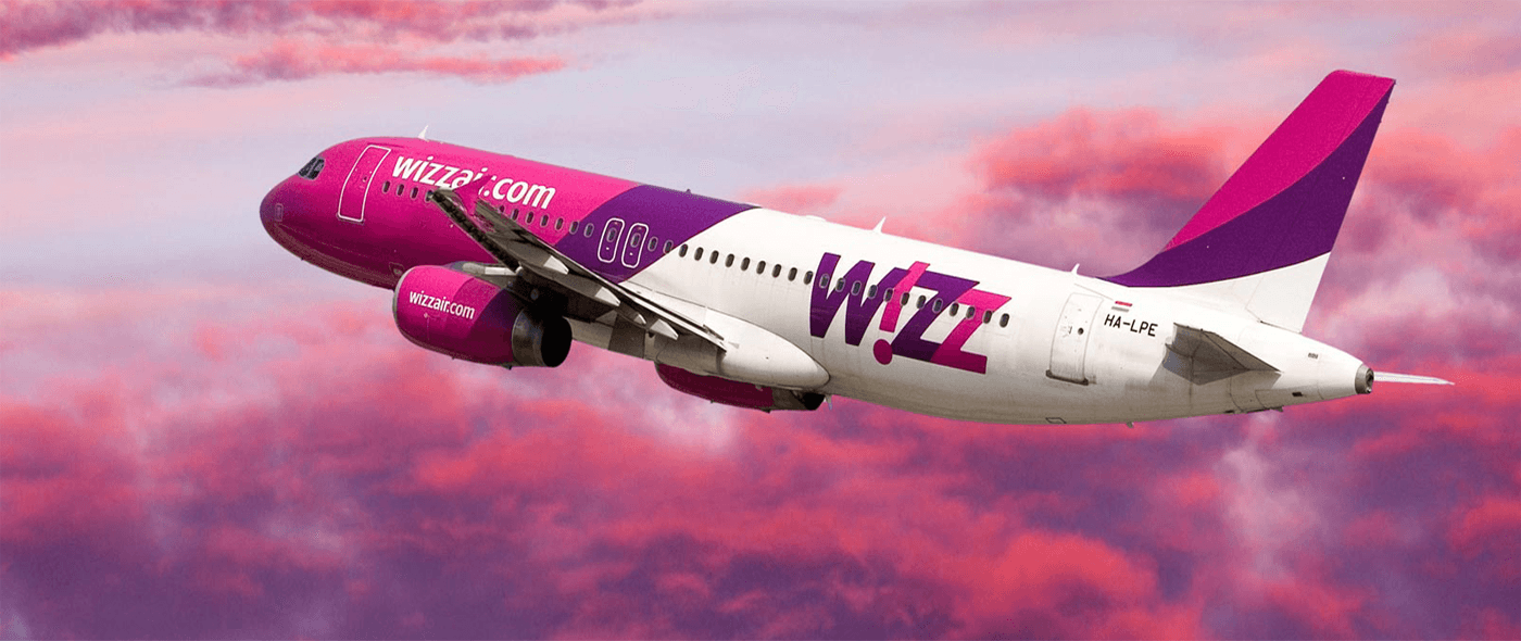 Wizz Air, Airbus, бюджетная авиакомпания