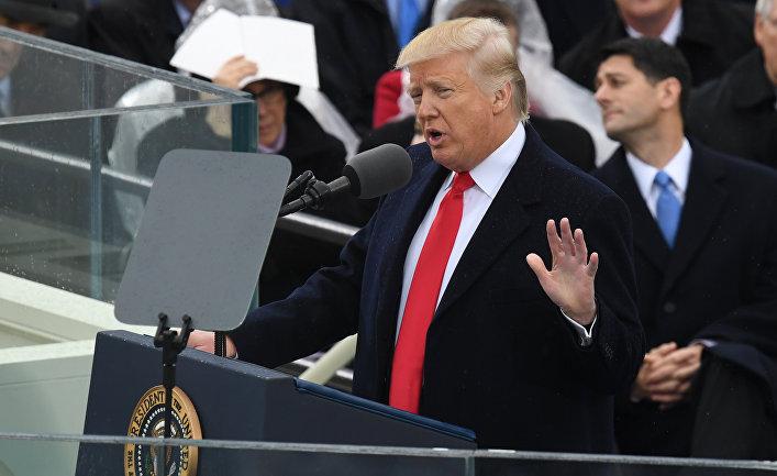 Дональд Трамп, Израиль, речь, нарушения речи