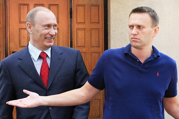 Навальный, Путин, президентские выборы