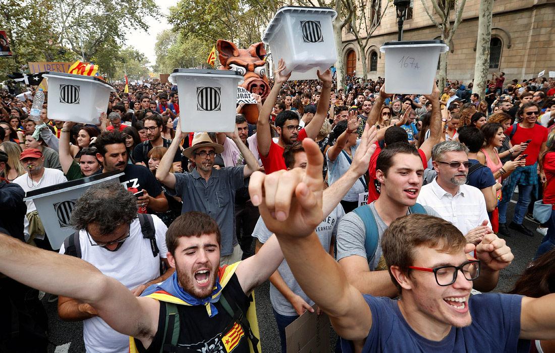 Табарния, Каталония, независимость