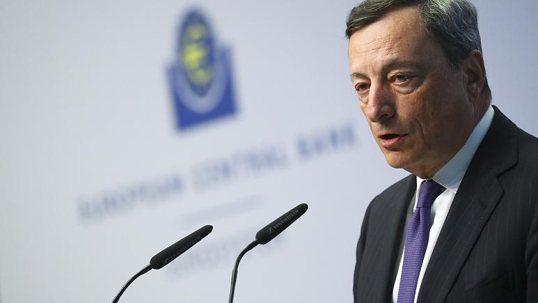 ЕЦБ, базовая ставка, банки, Марио Драги