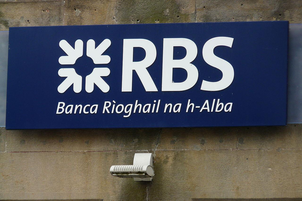 Королевский банк Шотландии, RBS