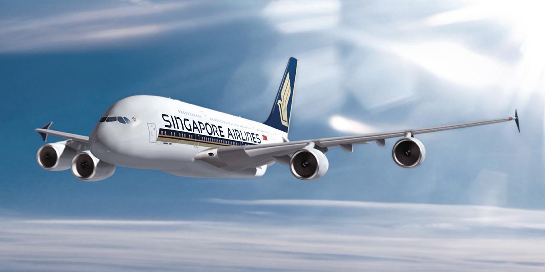 Singapore Airlines, бронирование места в самолете
