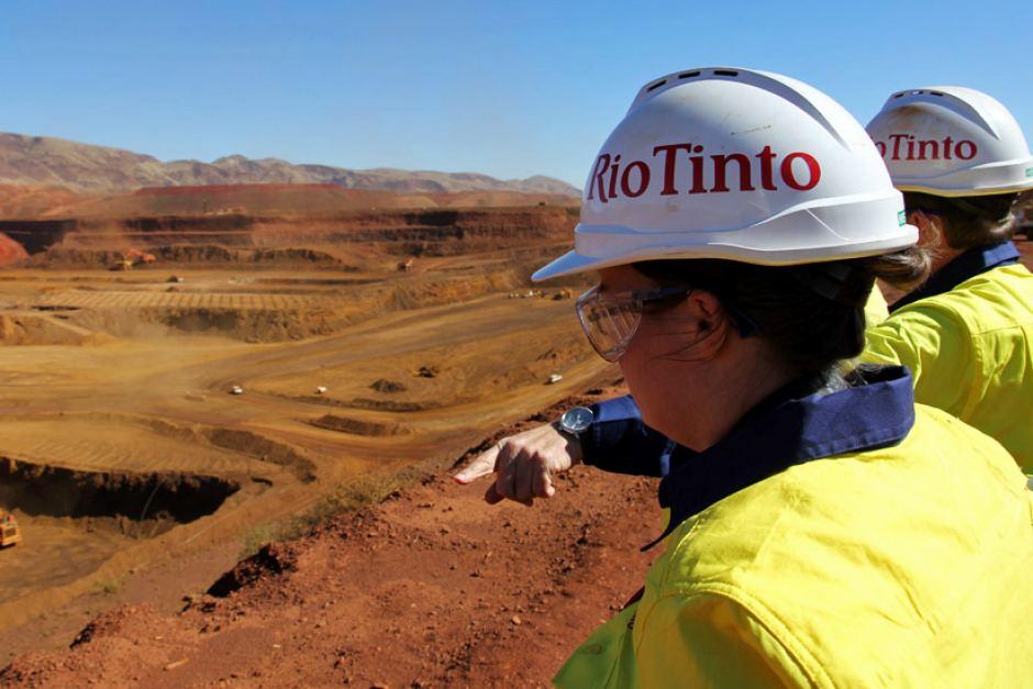 Rio Tinto, горно-металлургический, Томпсон, акционеры