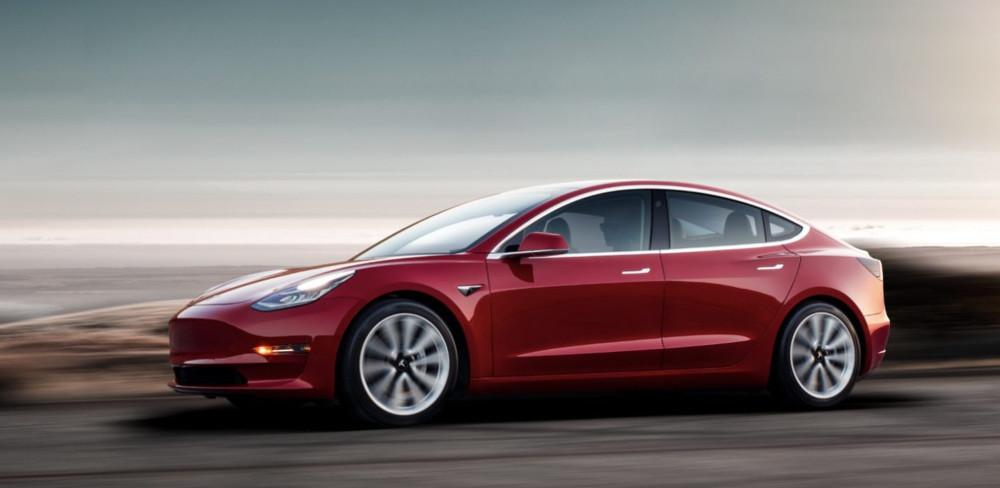 Tesla, акции Tesla, Tesla Model 3