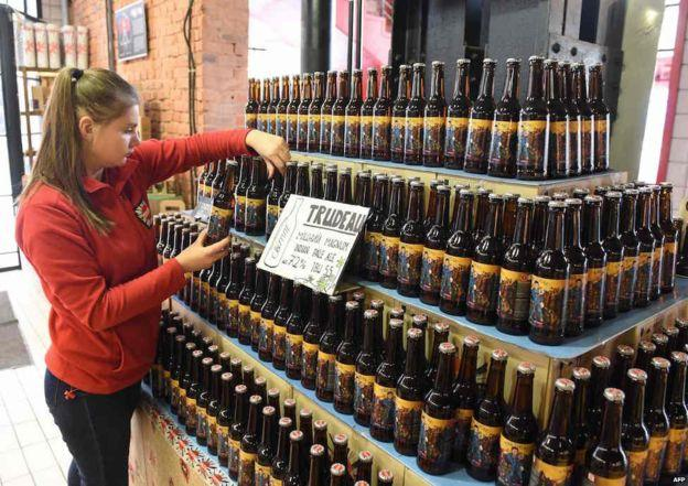 Украина, пиво, Трюдо, пивоварня