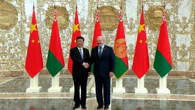 Белоруссия, Китай, торговый дом