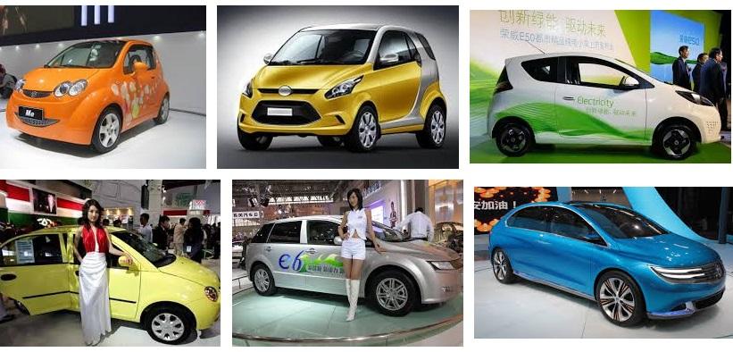 Китай, Европа, электромобили