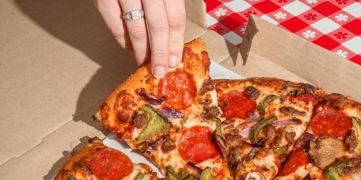 Domino's, Papa John's, пицца