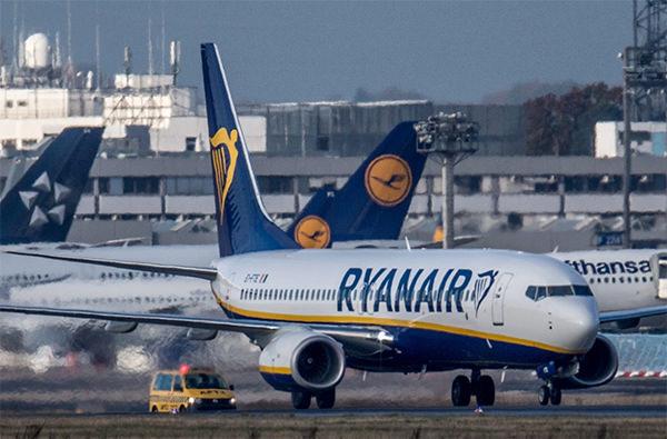Ryanair, цифровые ваучеры