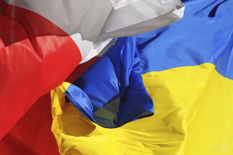 иностранцы, Польша, Украина