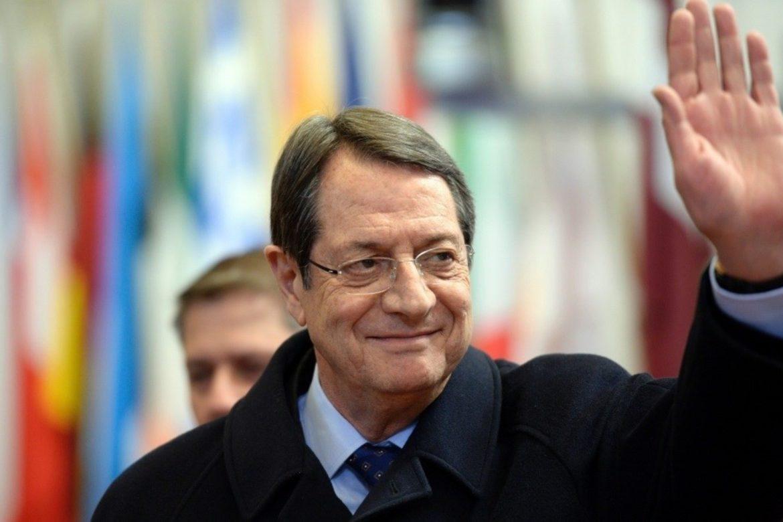 выборы, Кипр, Никос Анастасиадис