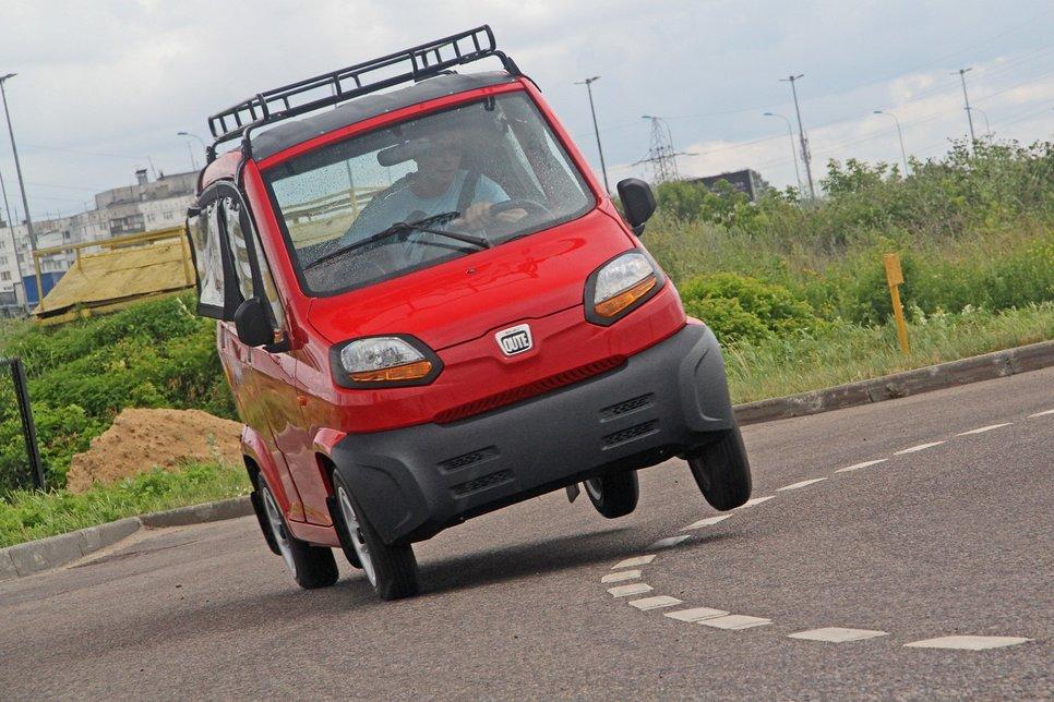 авто, Украина, Индия, Bajaj Qute
