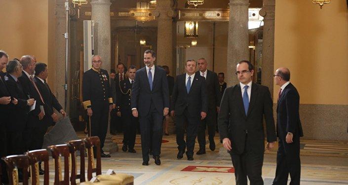 король Испании, ВЭФ в Давосе