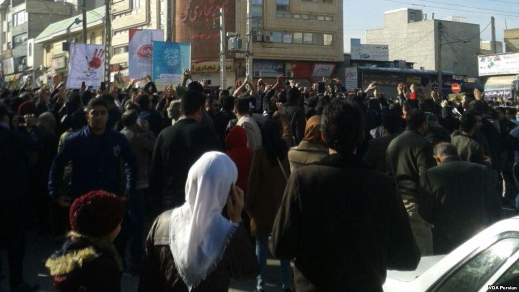 Иран, протесты