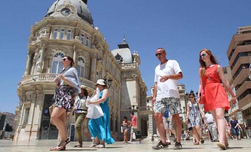 турист, Испания