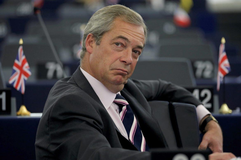 Нигель Фарадж, Великобритания, Брексит, выход Великобритании из ЕС, членство в ЕС, повторный референдум