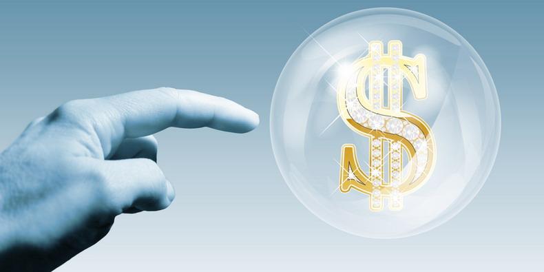 рынок, финансовый пузырь