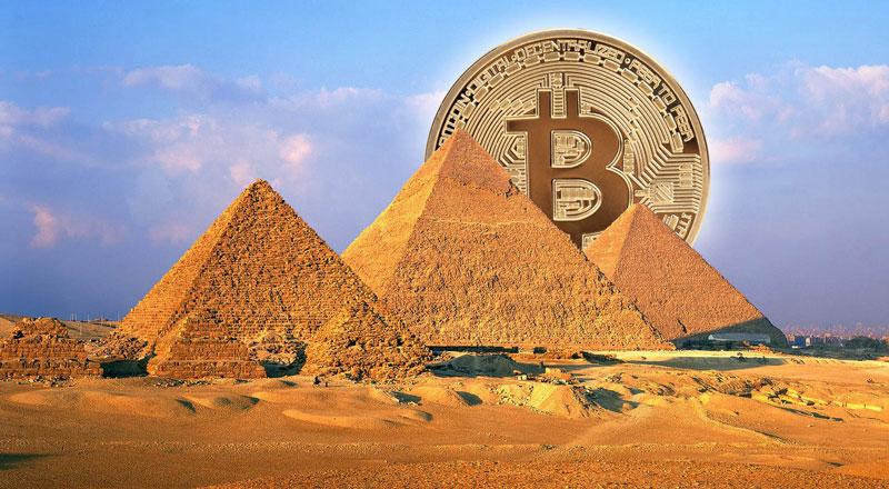 Египет, биткоин, криптовалюта