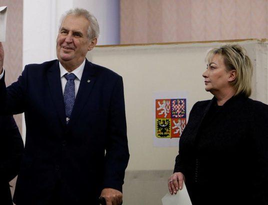 Чехия, президентские выборы, Милош Земан, Иджи Драгош