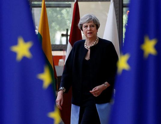 выход Великобритании из ЕС, Брексит, Великобритания, ЕС, Тереза Мэй