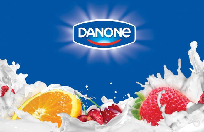 Danone, продажи