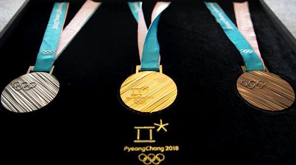 медаль, Зимние Олимпийские игры, Пхенчхан, 2018