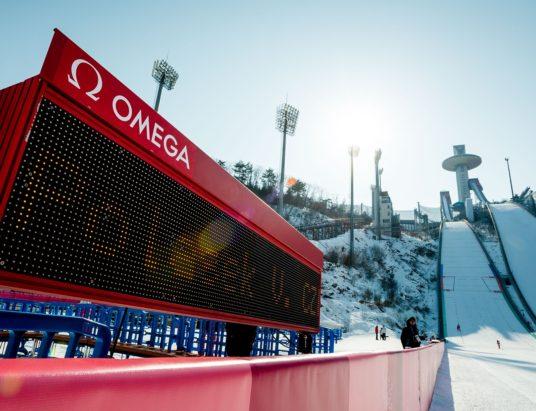 Omega, зимние Олимпийские игры, 2018, Пхенчхан