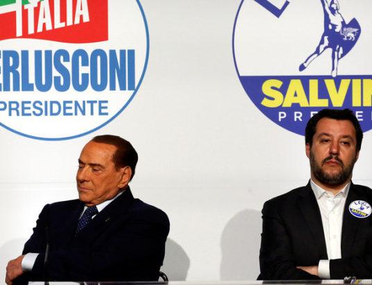Италия, выборы, Движение пяти звезд, парламент, правоцентристский блок