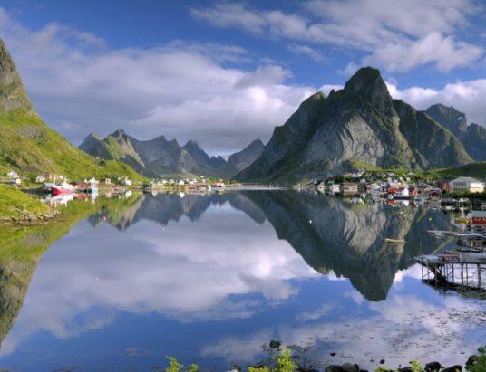 рейтинг самых счастливых стран, Норвегия, Финляндия