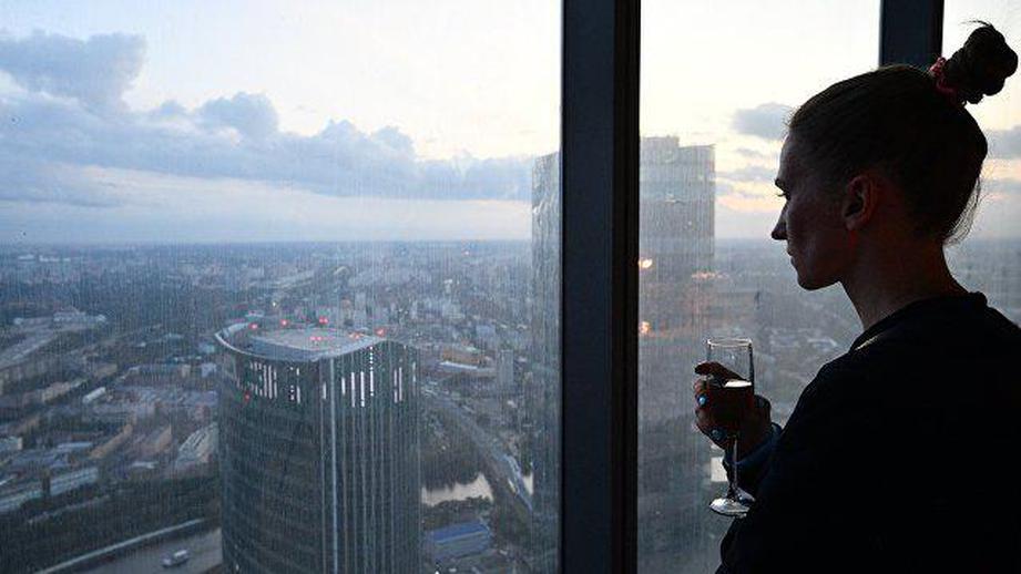 смотровая площадка, самый высокий, башня, Москва, PANORAMA 360