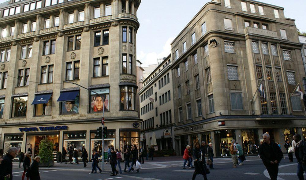 торговые улицы, Европа