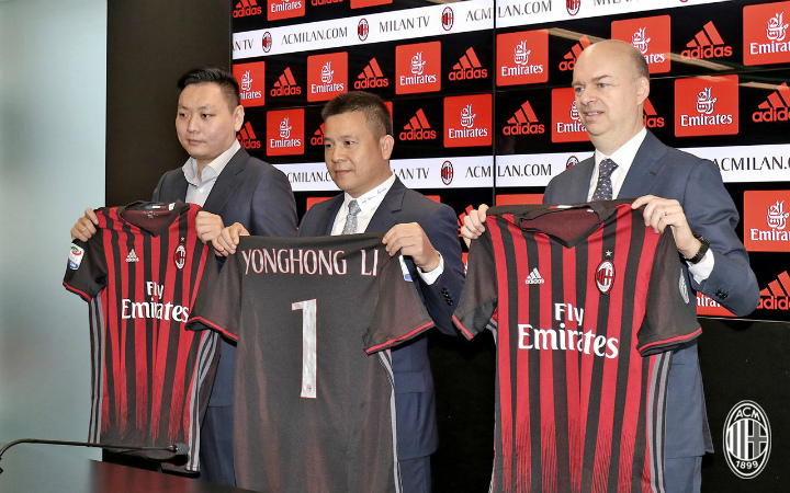 биткоин, кредит, рефинансирование, ФК Милан, Йонхонг Ли, Elliott Management Corp.