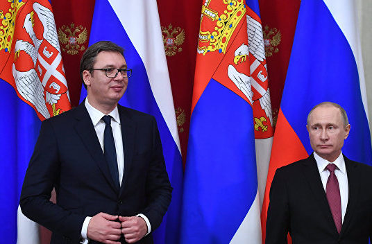 Сербия, РФ, США, государства