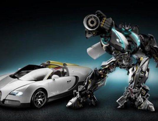 трансформер, робот, режим автомобиля