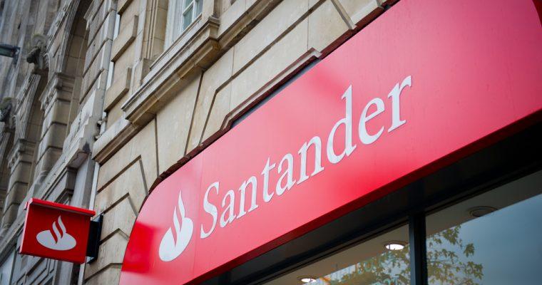 Santander, денежные переводы, блокчейн