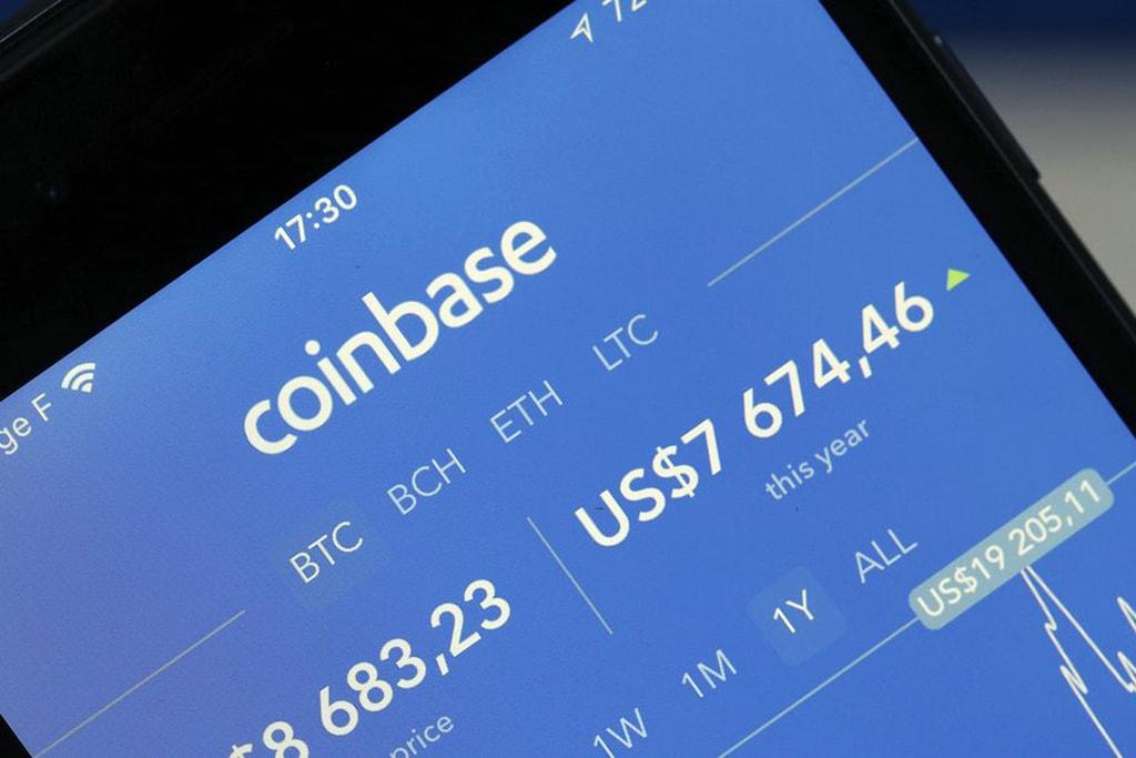 криптовалюты, цифровая валюта, Coinbase, биткоин, биржа криптовалют