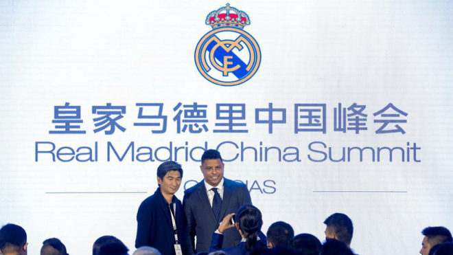 Реал Мадрид, футбольный клуб, Китай