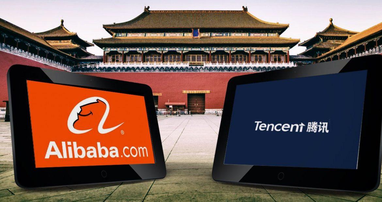 Tencent, Alibaba