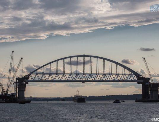 Керченский мост, Россия, Украина, «стройка века»