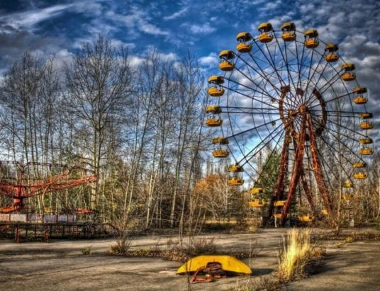 Чернобыльская АЭС, Зона отчуждения, четвертый энергоблок, 30-километровая зона, дезактивация