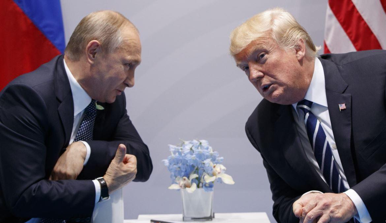 Белый дом, Трамп, Путин