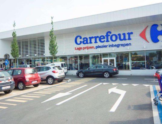 сеть супермаркетов, ритейлер, Carrefour, Google, Франция