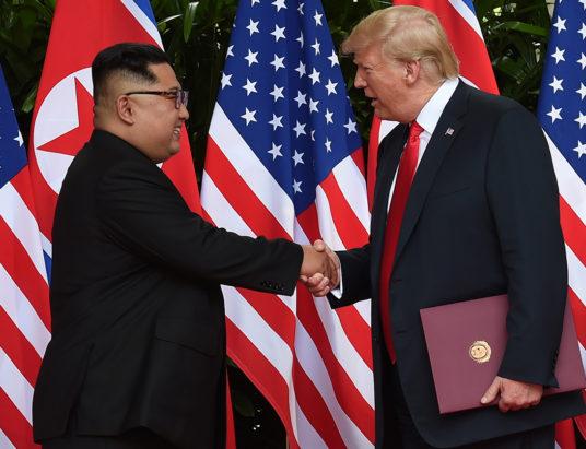 Дональд Трамп, Ким Чен Ын, США, КНДР, Сингапур